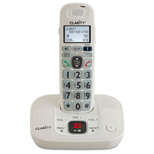 clarity phones with answering machine