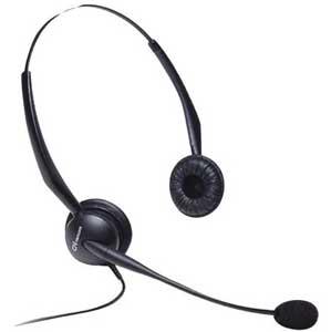 GN Netcom Binaural Noise-canceling Headset 2125NC