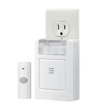 Plug-In Door Chime Kit with Strobe Light