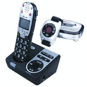 Amplicom Powertel 725 Reliant + Cordless Amplified Telephone