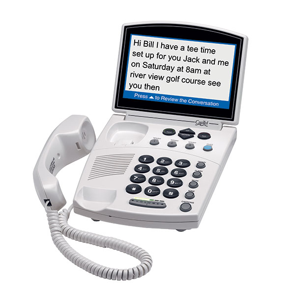 CapTel 840i Captioned Telephone (Federal)