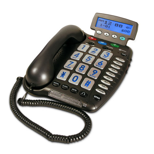 Geemarc Ampli500 Amplified Corded Telephone with Caller-ID