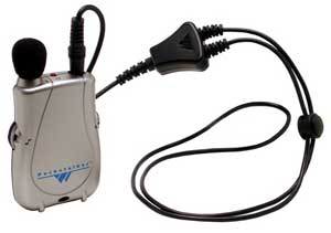 Williams Sound Pocketalker with Neckloop Personal Amplifier