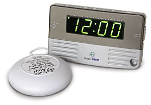 Sonic Alert Travel & Bedside Clock