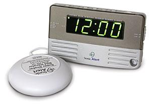Sonic Alert Travel & Bedside Clock