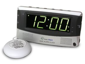 Sonic Alert Dual Alarm Clock (two alarm settings)