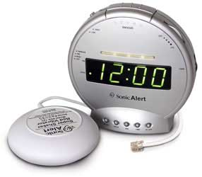 Sonic Alert Clock and Phone Signaler