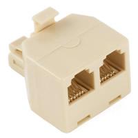 Duplex Modular Telephone Adapter (y-jack)