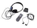 Comfort Duett with Headphones & Earbuds Personal Amplifier